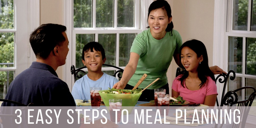 3 Easy Steps To Meal Planning