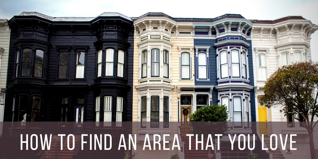 How To Find An Area That You Love
