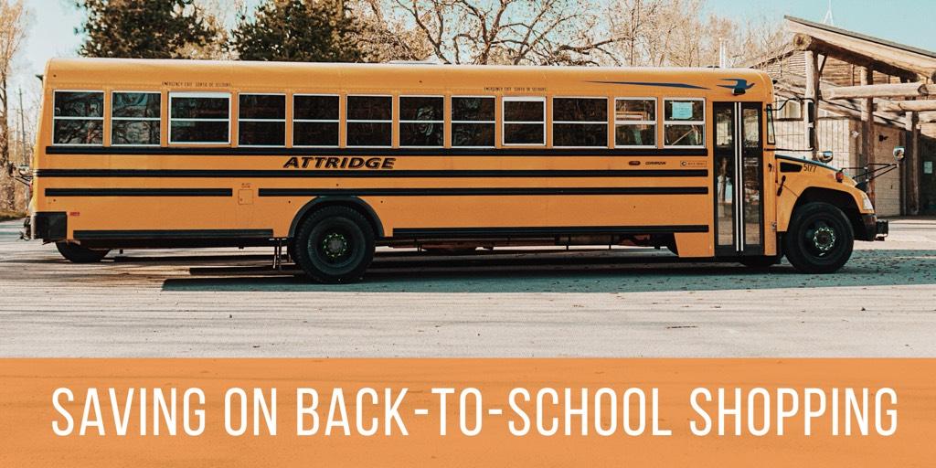Saving on Back-to-School Shopping