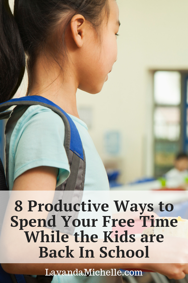 8 Productive Ways to Spend Your Free Time While the Kids are Back In School