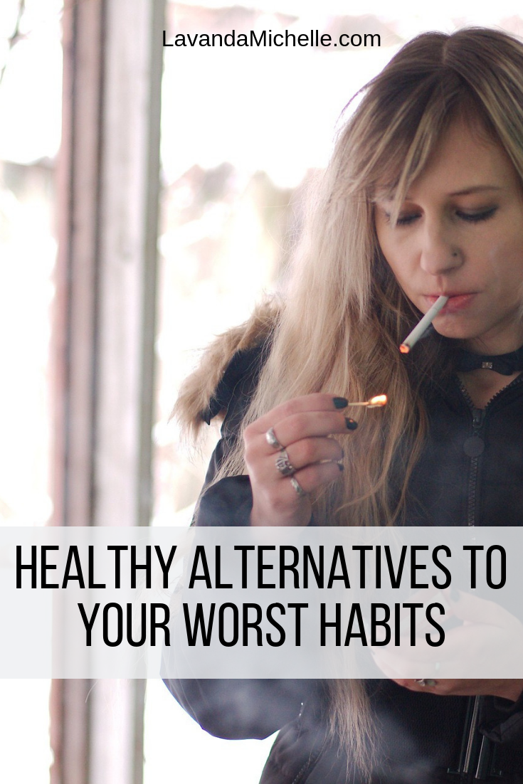 Bad habits - we all have them, and some of them are detrimental to our health and wellbeing. While they can be notoriously difficult to break, especially when they have become entrenched in our usual routine, it is possible to find healthier alternatives that will better our lifestyle, and go some way towards kicking those bad habits for good.