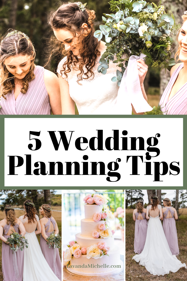 5 Wedding Planning Tips
