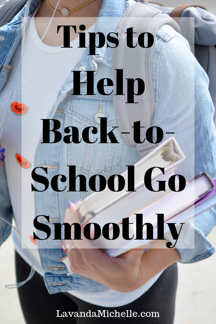 Tips to Help Back-to-School Go Smoothly