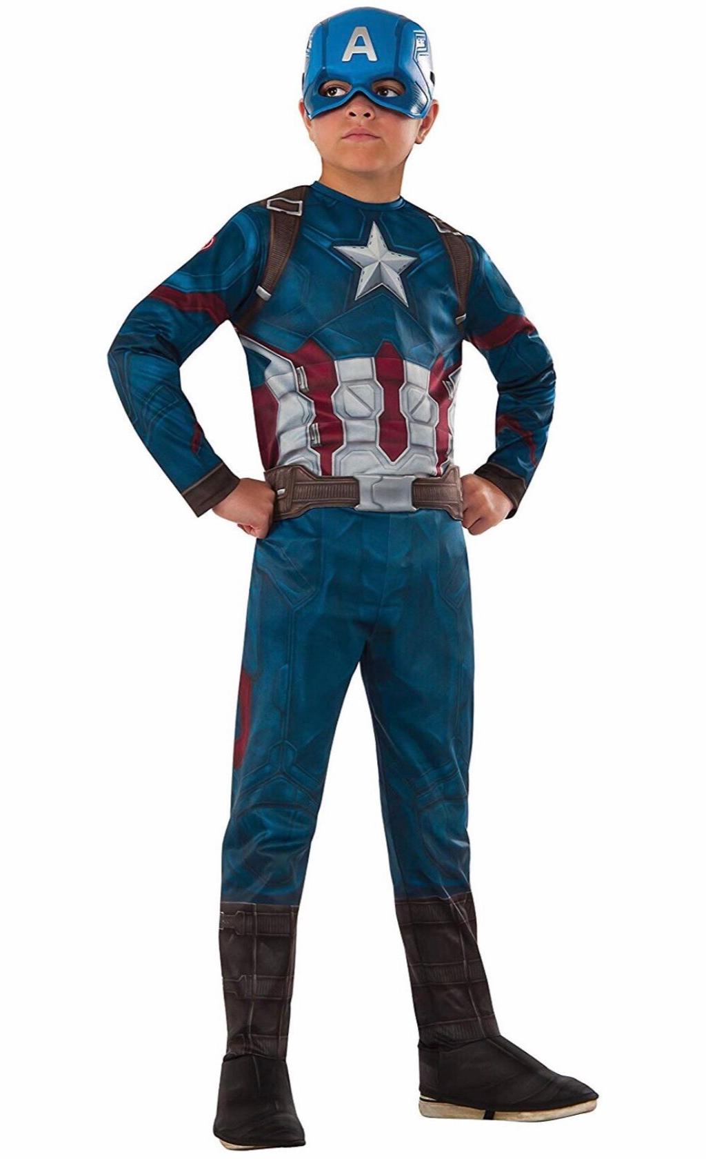 Captain America: Civil War Value Captain America Costume
