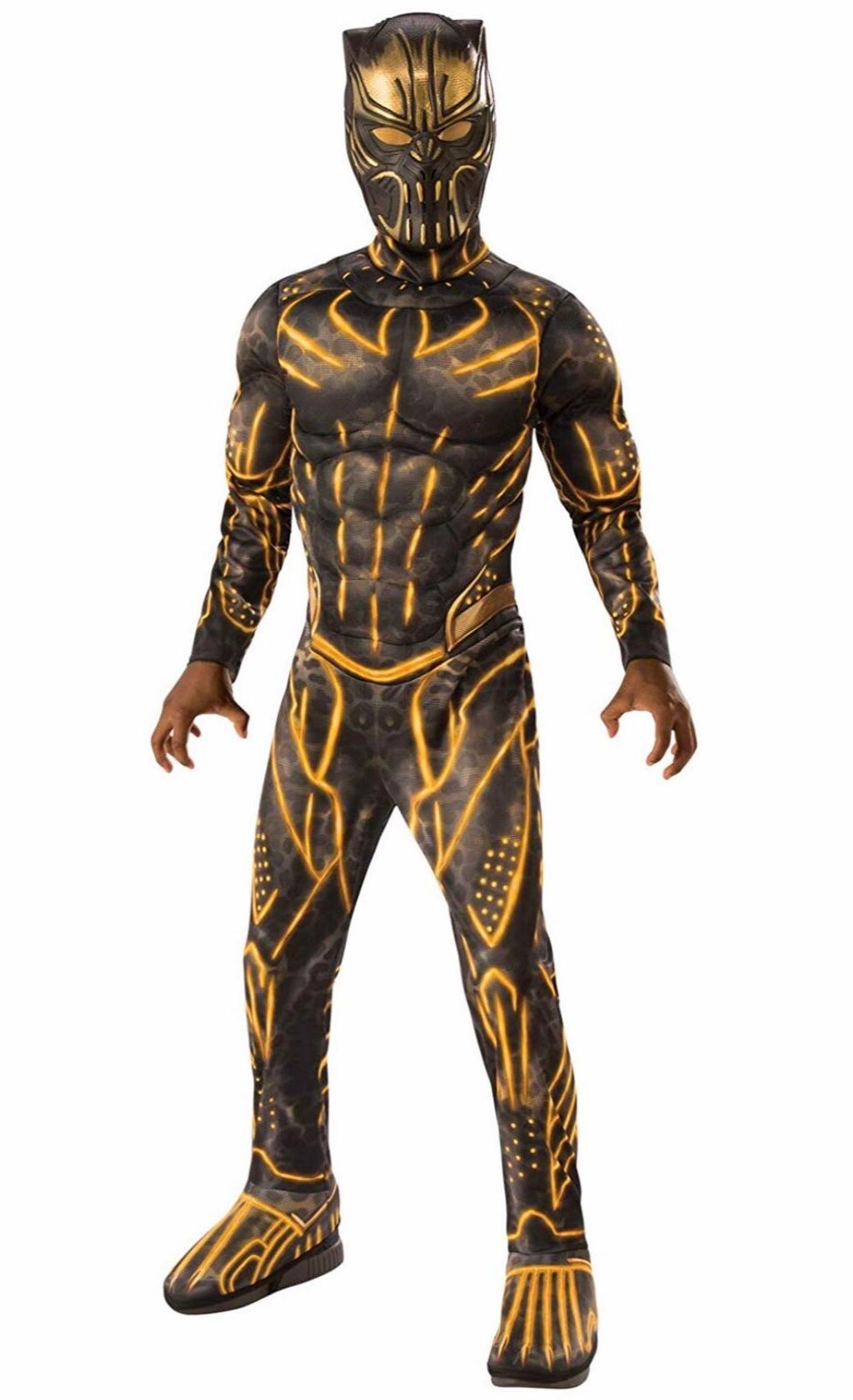 Black Panther Movie Erik Killmonger Costume