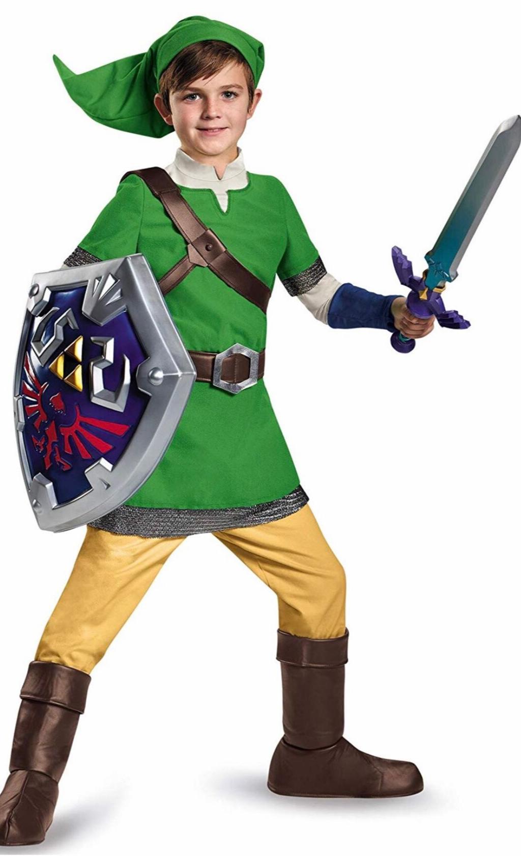 Legend Of Zelda Link Deluxe Costume