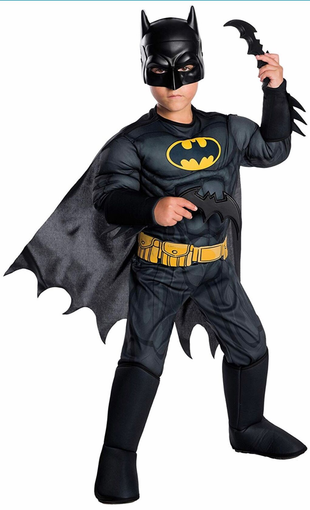 Boys DC Comics Deluxe Batman Costume