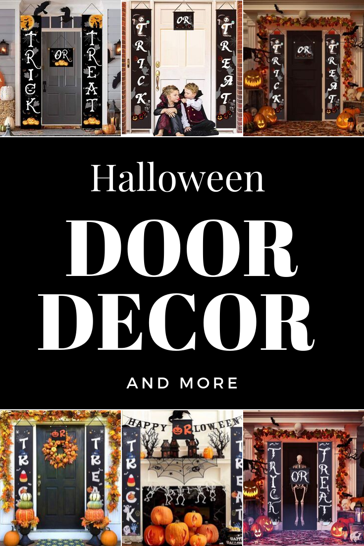 Halloween Door Decor and More