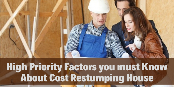High Priority Factors you must Know About Cost Restumping House