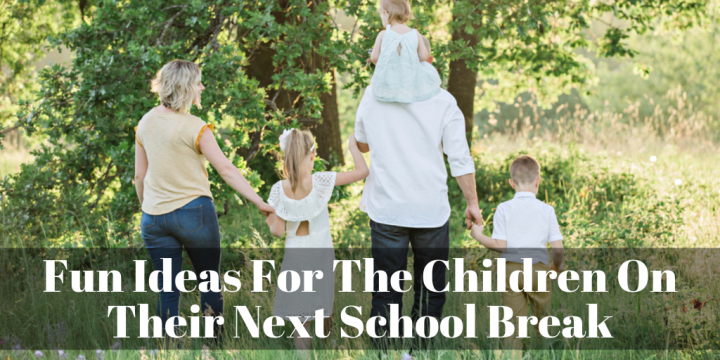 Fun Ideas For The Children On Their Next School Break