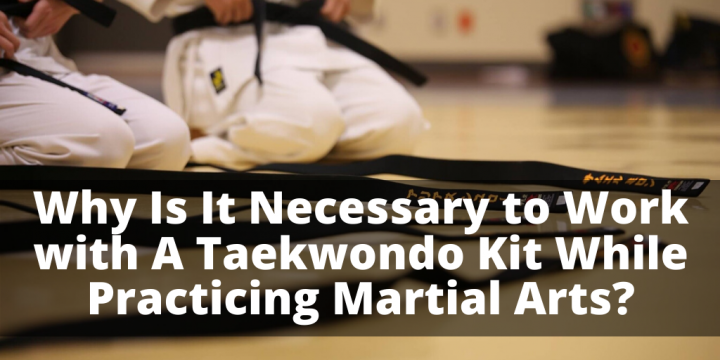 Why Is It Necessary to Work with A Taekwondo Kit While Practicing Martial Arts?